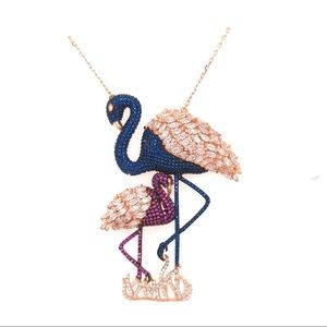 Flamingo silver boutiqe necklace 925.